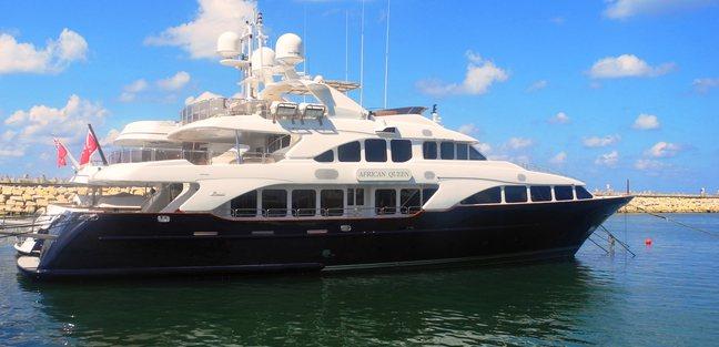 African Queen Charter Yacht