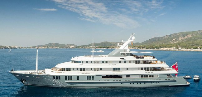 Boadicea Charter Yacht