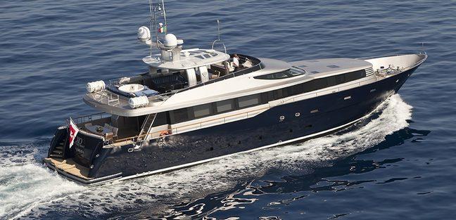 XO of the Seas Charter Yacht