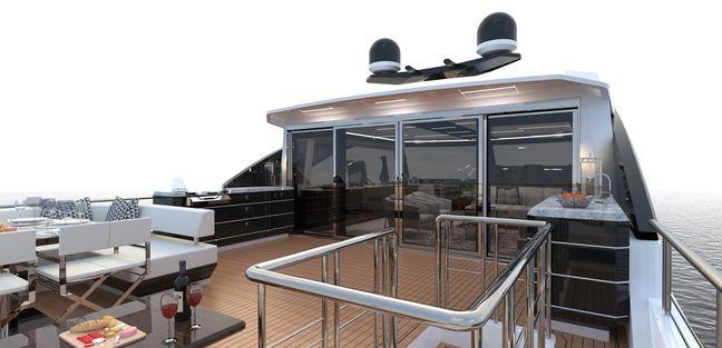 Ocean Alexander 84R Charter Yacht - 2