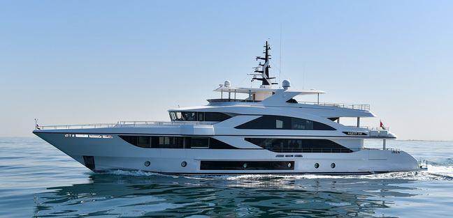 Nashwan Charter Yacht