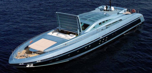 Blue Princess Star Yacht Charter Price Baglietto Luxury Yacht Charter