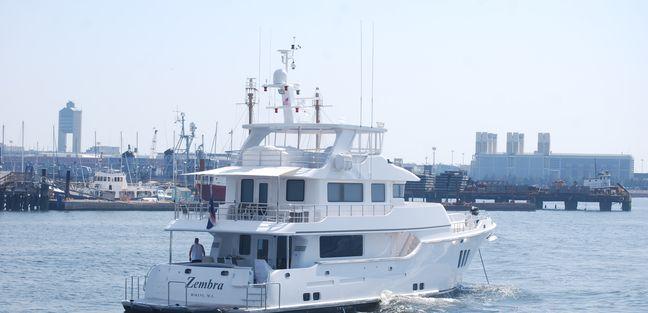Zembra Charter Yacht