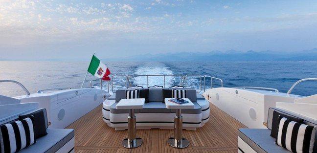 92' Mangusta Charter Yacht - 3