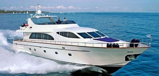 Falcon 86 Charter Yacht
