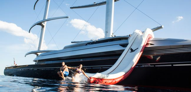 Happy Sea World Maltese Falcon Yacht Charter Price