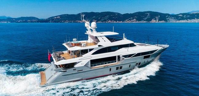 Lejos 3 Charter Yacht