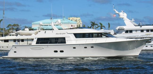 Black Gold Charter Yacht