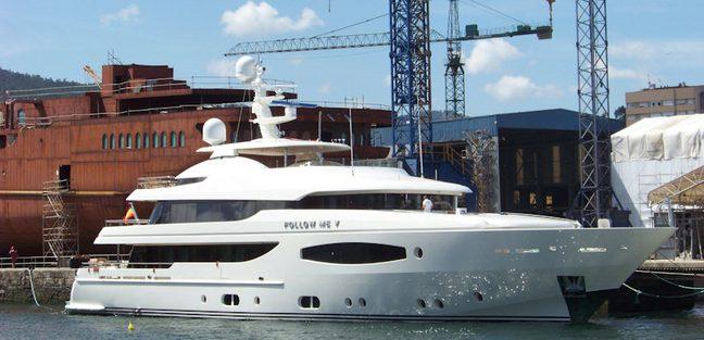 Follow Me V Charter Yacht