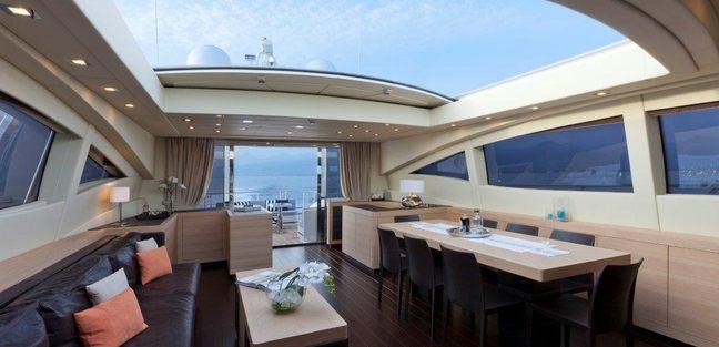92' Mangusta Charter Yacht - 4