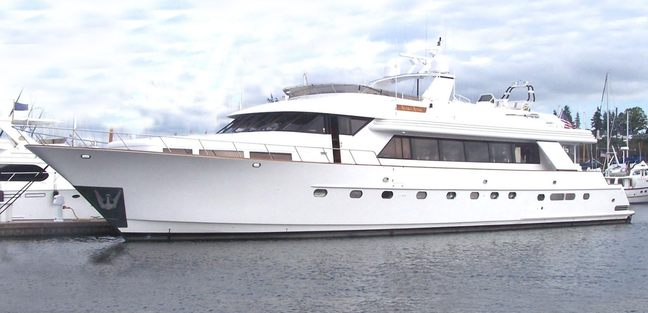 Golden Eagle Charter Yacht