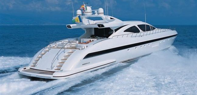 Mangusta 130/21 Charter Yacht - 4