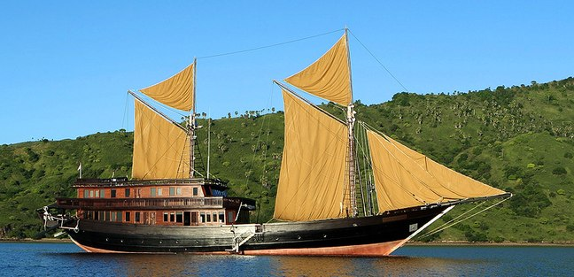 Alila Purnama Charter Yacht
