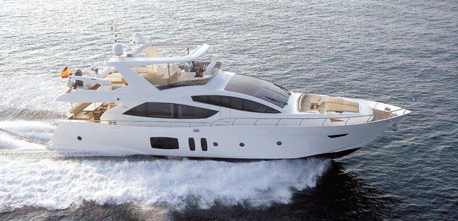 Astondoa 76 Glx Charter Yacht