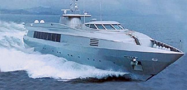 Blue Ice Charter Yacht