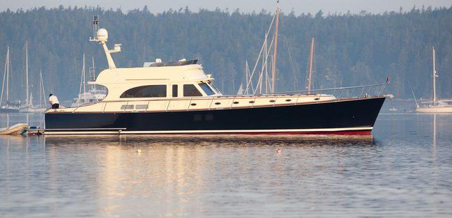 72' Flybridge Classic Charter Yacht - 2