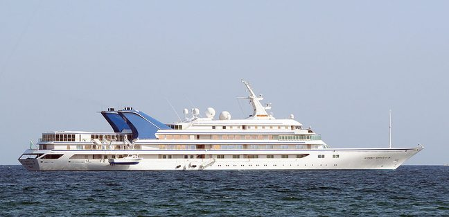Prince Abdul Aziz Charter Yacht
