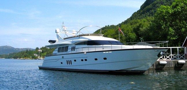 Anne Viking Charter Yacht