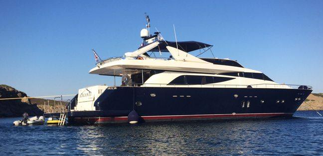 Atalanti Charter Yacht
