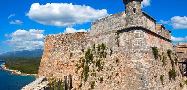 A Fortified castle in Old Havana