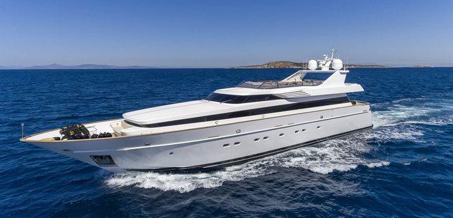 Alexia AV Charter Yacht