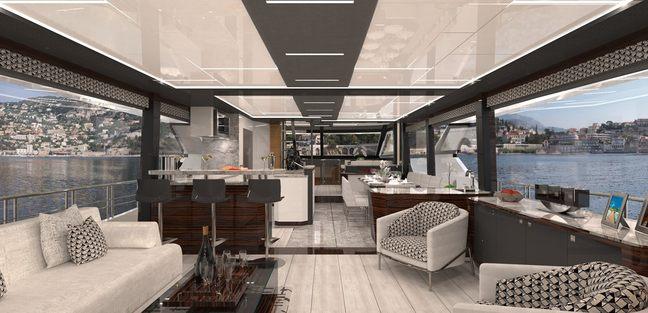 Ocean Alexander 84R Charter Yacht - 6