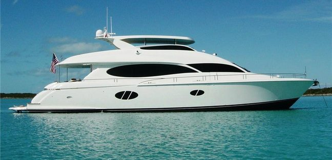 Shades of Blue Charter Yacht