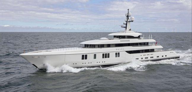 Hasna Yacht Feadship Yacht Charter Fleet