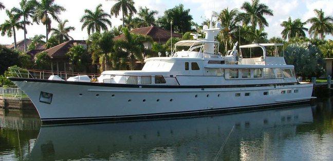 Arcadia Charter Yacht