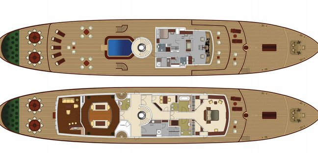 Classic 57m Charter Yacht - 4