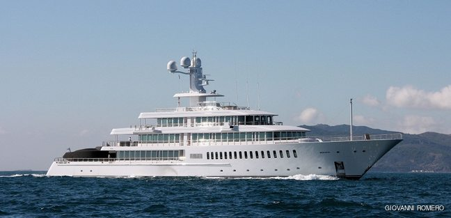 Fountainhead Charter Yacht