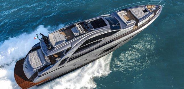 Pershing 8X / 01 Charter Yacht