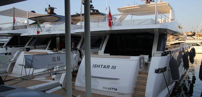 Ishtar III Charter Yacht