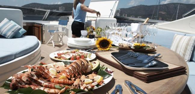 Champagne O'Clock Charter Yacht - 2