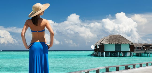 Soak Up the Maldives Sunshine