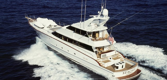 Seacall yacht charter price denison luxury yacht charter for Luxury fishing boats