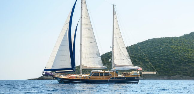 Dea Delmare Charter Yacht