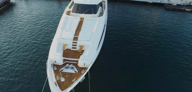 White Pearl Yacht