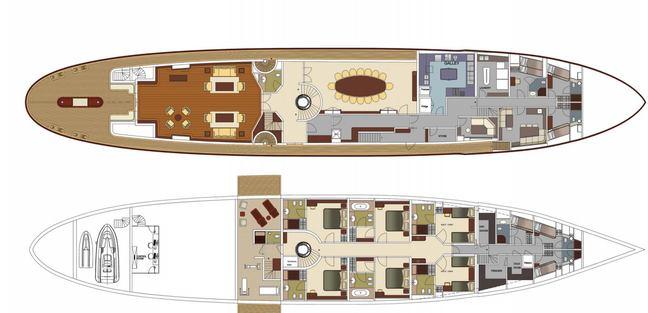 Classic 57m Charter Yacht - 5