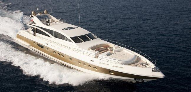 Antelope IV Charter Yacht