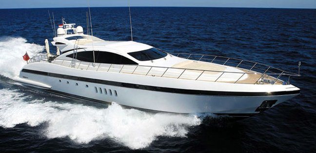 Orion I Charter Yacht