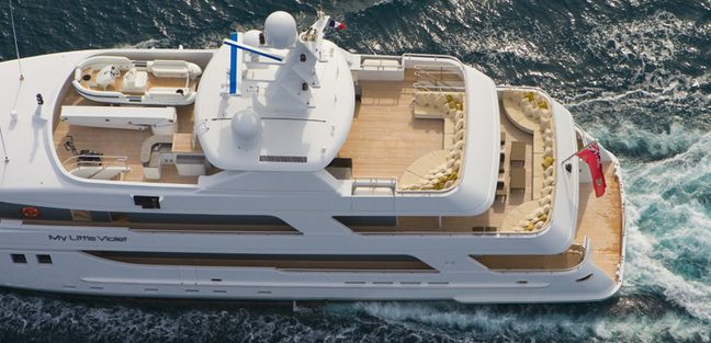 My Little Violet Charter Yacht - 3
