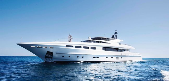 Infinity Pacific Charter Yacht