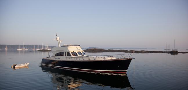 72' Flybridge Classic Charter Yacht - 3