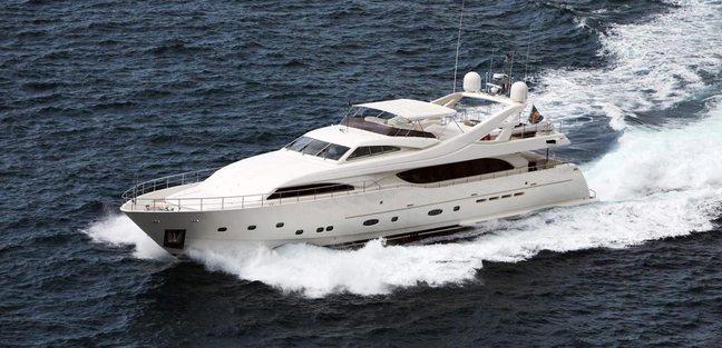 Lady Maria Charter Yacht