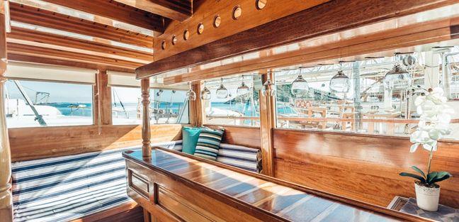 Sadri Usta Charter Yacht - 3