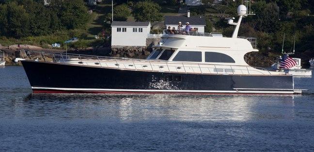 72' Flybridge Classic Charter Yacht - 4