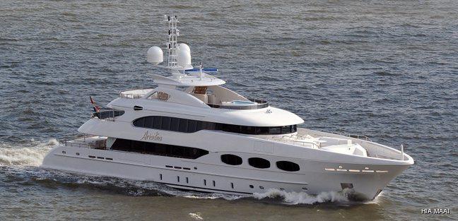Crystalady Charter Yacht