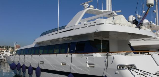 Romantica Charter Yacht
