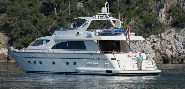 Leonida Charter Yacht